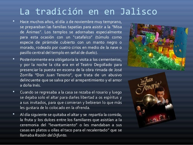 La tradición en en Jalisco   Hace muchos años, el día 2 de noviembre muy temprano,    se preparaban las familias tapatías...