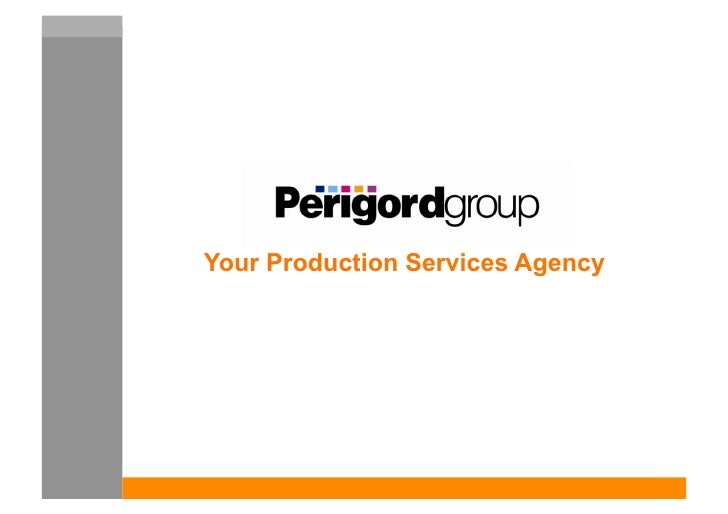 Your Production Services Agency