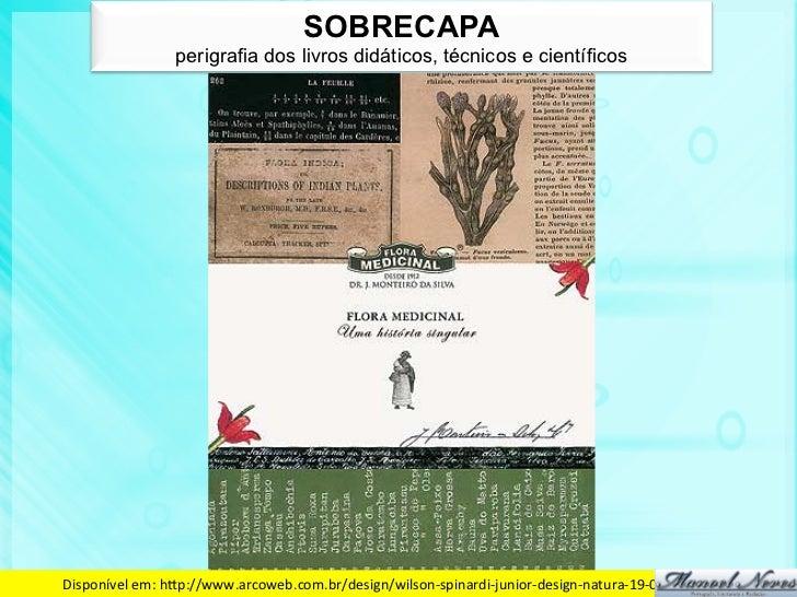 SOBRECAPA                    perigrafia dos livros didáticos, técnicos e científicosDisponível em: hdp://www.arcoweb.c...