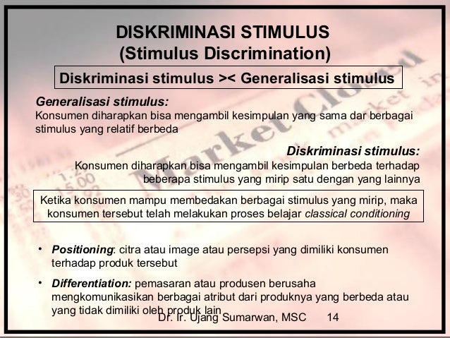 Contoh Generalisasi Dan Diskriminasi Virallah