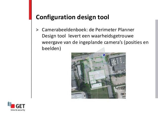 Configuration design tool > Camerabeeldenboek: de Perimeter Planner Design tool levert een waarheidsgetrouwe weergave van ...