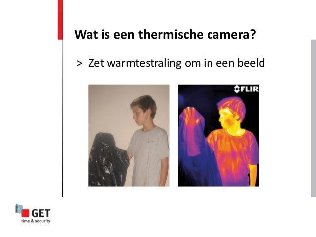Wat is een thermische camera? > Zet warmtestraling om in een beeld