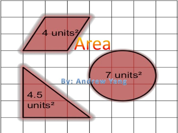 Area<br />By: Andrew Yang<br />