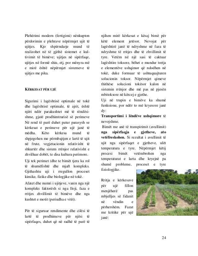 • Fillimi i lulëzimit dhe       i      frutifikimit    • Faza e rritjes së frutave.Mënyrat e ujitjes së perimeve mund të  ...