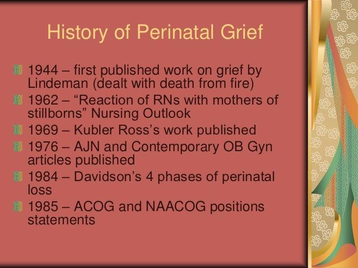 Perinatal loss 2012