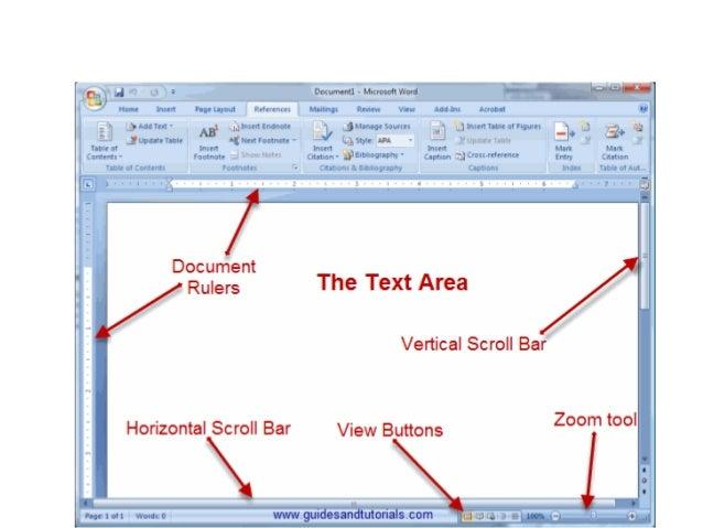 microsoft word rulers