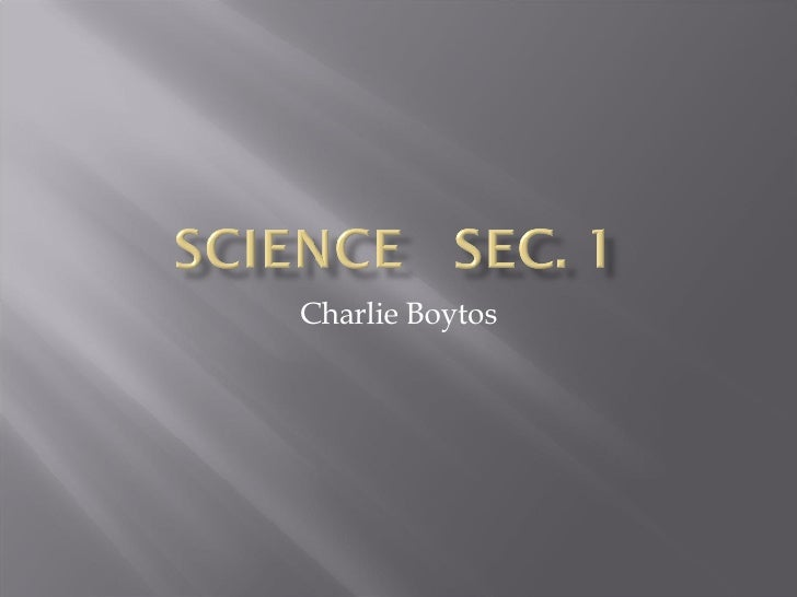 Charlie Boytos
