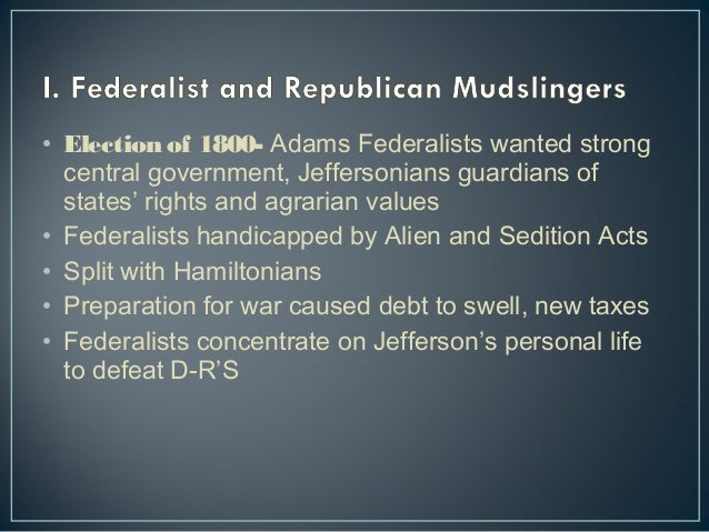 republicans and federalists essay Tennessee 4 me - what were the differences between federalists and anti-federalists - after the american revolutionary war, the founding fathers had to build a government virtually from scratch.