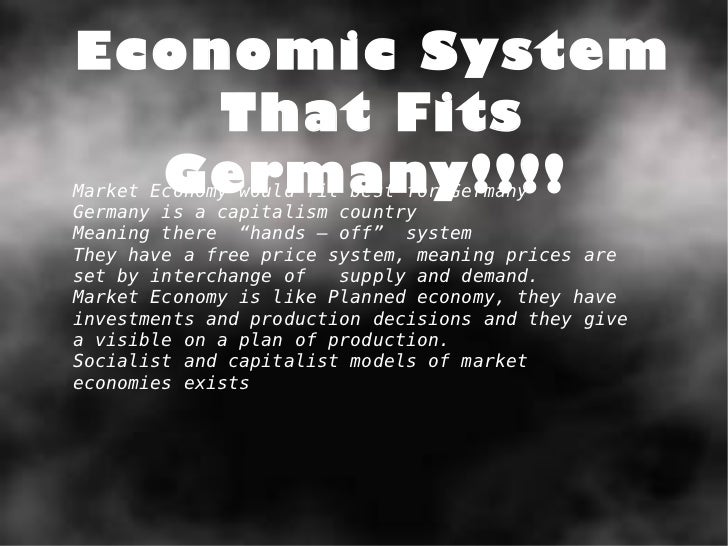 an overview of germanys economic system The upper house in the german political system is the bundesrat at first glance, the composition of the bundesrat looks similar to other upper houses in federal states such as the us.