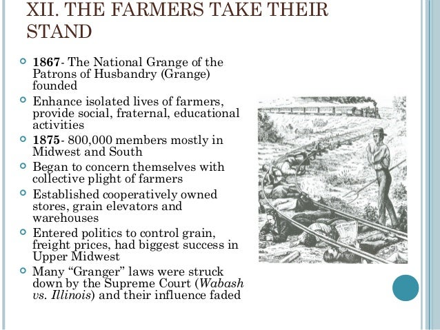 Period 6 text - National grange of the patrons of husbandry ...