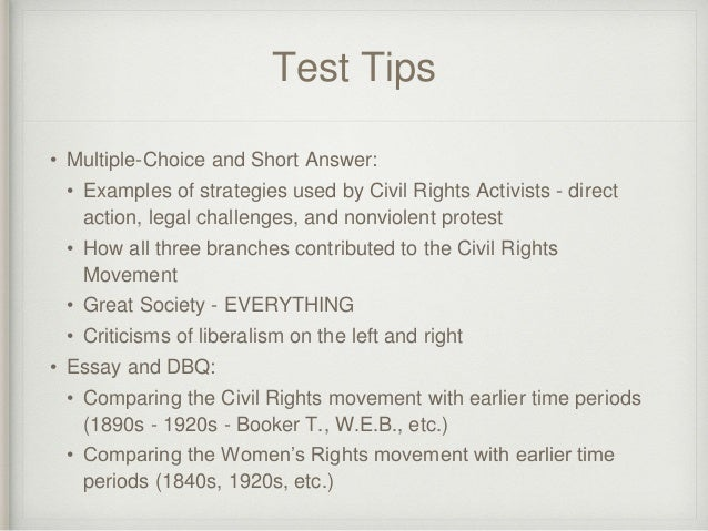 thesis statement for womens rights movement