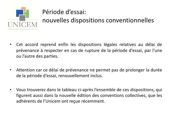 Periode D Essai Unicem