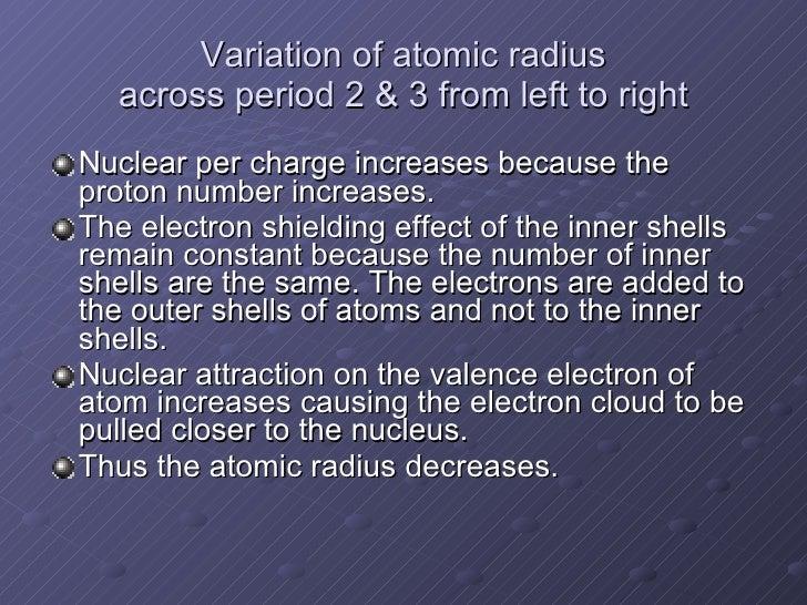 Periodic table 5 variation of atomic radius urtaz Image collections