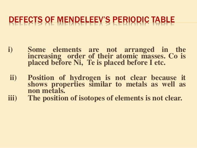 periodic classification of elements Periodic classification of elements 5 chapter in class ix we have learnt that  matter around us is present in the form of elements, compounds and mixtures.