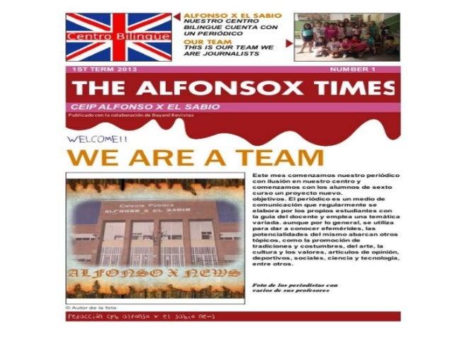 ALFONSO X NEWS.