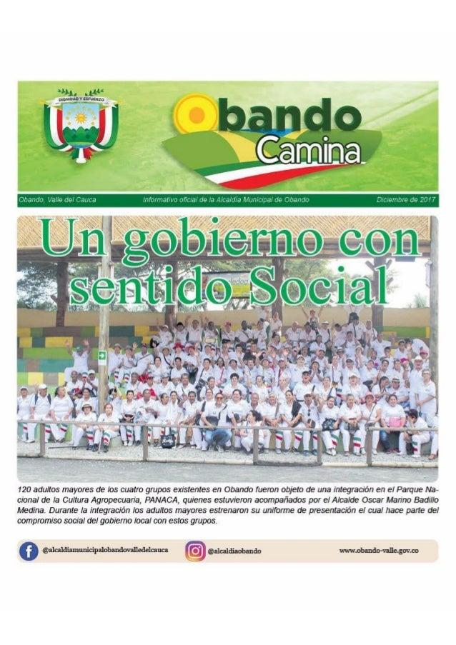 "Periódico ""Obando Camina"" 2017 - 2018"