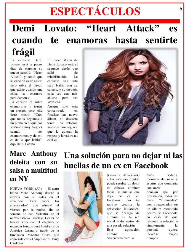 Periodico maylin fierro for Noticias sobre espectaculos