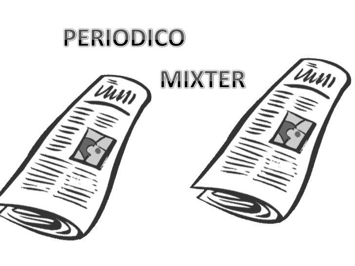 PERIODICO<br />MIXTER<br />