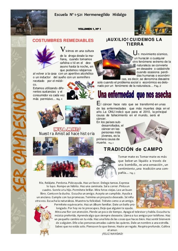 EscuelaNº1‐521HermenegildoHidalgo                                                       VOLUMEN 1, Nº 1 ...