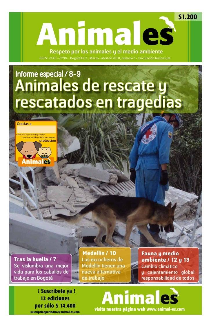 $1.200                                Animales            Respeto por los animales y el medio ambiente                    ...