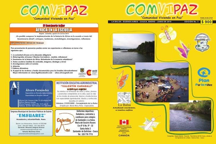 """COMVIPAZ      """"Comunidad Viviendo en Paz""""                                                                                 ..."""