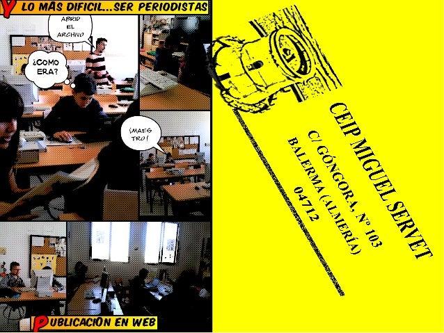 Periodico didactico   digital   presentacion del comic