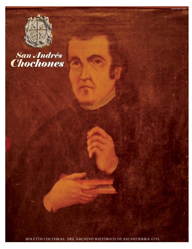 Boletín cultural e informativo del archivo histórico de la Ciudad de Salvatierra Guanajuato