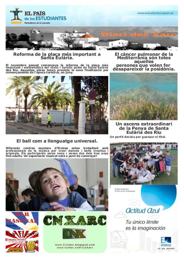 ReformadelaplaçamésimportantaSantaEulària.El novembre passat començava la reforma de la plaça mésimporta...