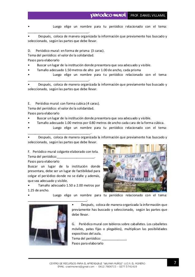 Ejemplo de editorial de un periodico mural escolar peri for Ejemplo de una editorial de un periodico mural