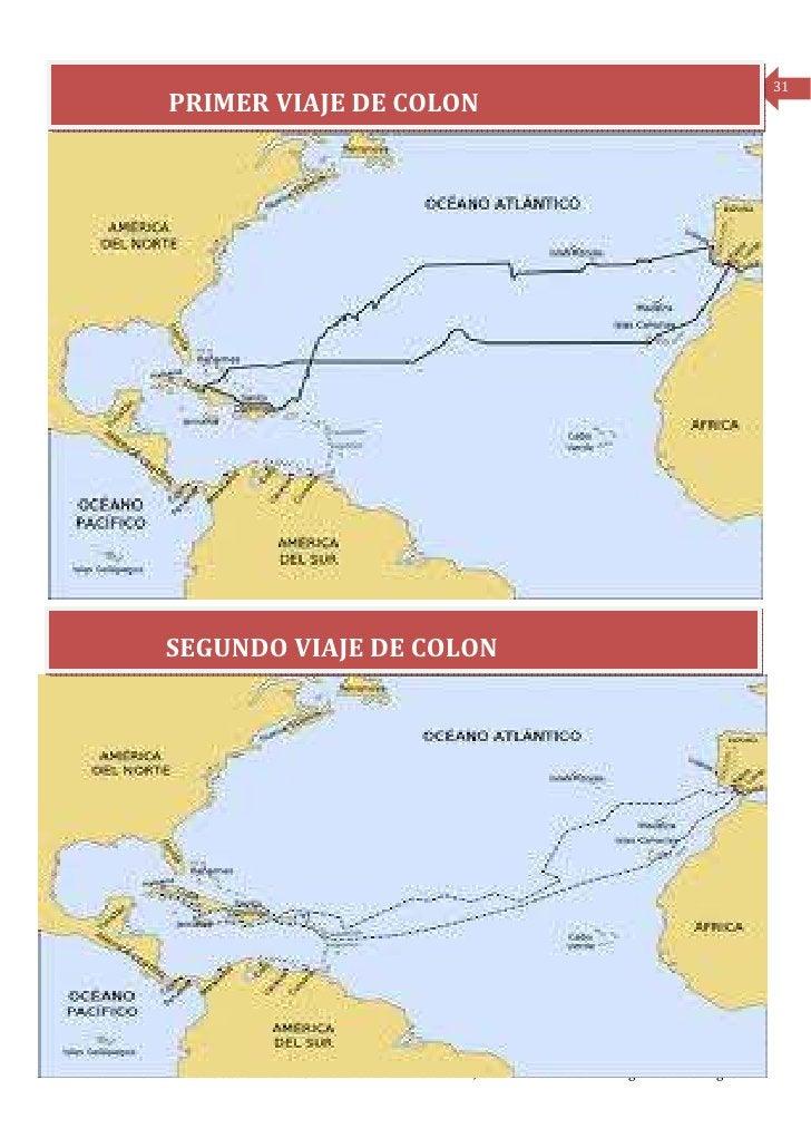 31                 PRIMER VIAJE DE COLON                 SEGUNDO VIAJE DE COLONPeriódico mensual de la Escuela Rural Cumbr...