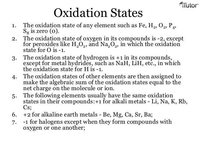 Periodic relationships oxidation states 1 urtaz Gallery