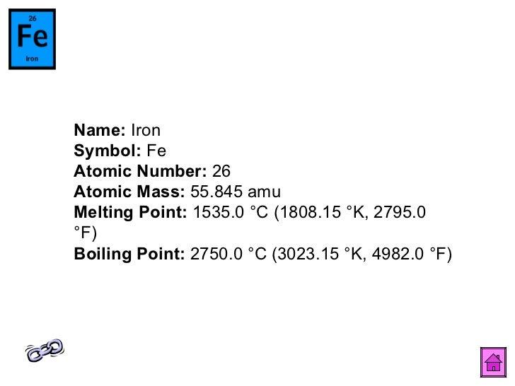 Periodic table 28 name iron symbol fe atomic number urtaz Images