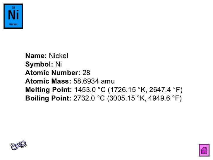 Periodic table 30 name nickel symbol ni atomic number urtaz Choice Image