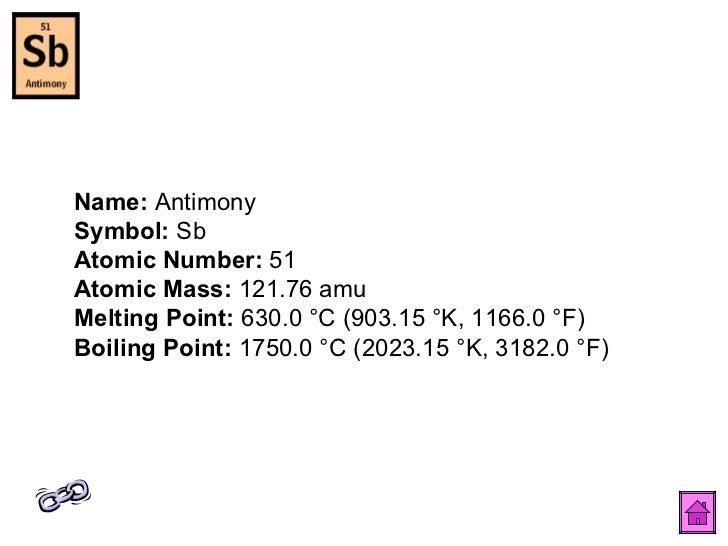 Periodic table 53 name antimony symbol sb urtaz Choice Image