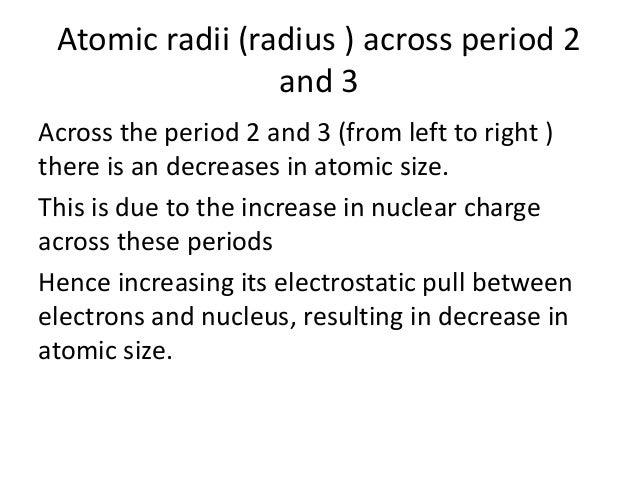 Inorganic chemistry period 2 and 3 28 the ionic radius urtaz Choice Image