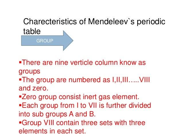 Periodic table mendeleevs periodic table 3 urtaz Choice Image