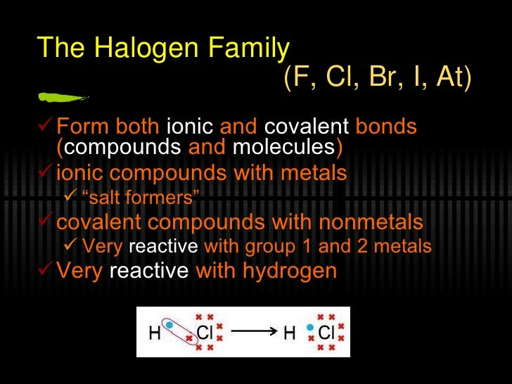 Periodic Table Families Revised 09