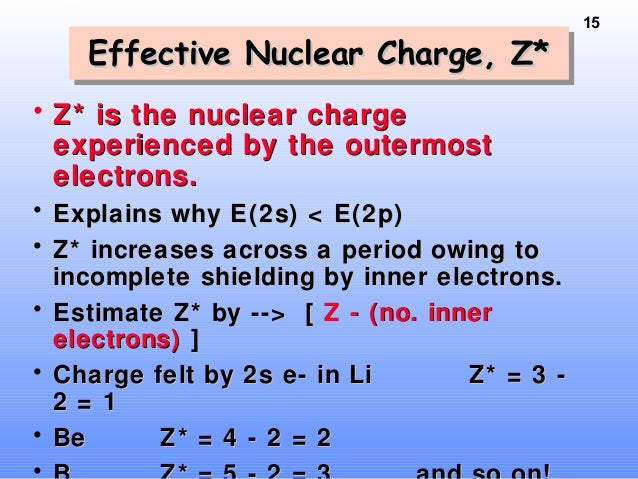 Periodic table n electron config 14 electronelectron fillingfilling orderorder figure 85figure 85 15 15 effective nuclear charge urtaz Images
