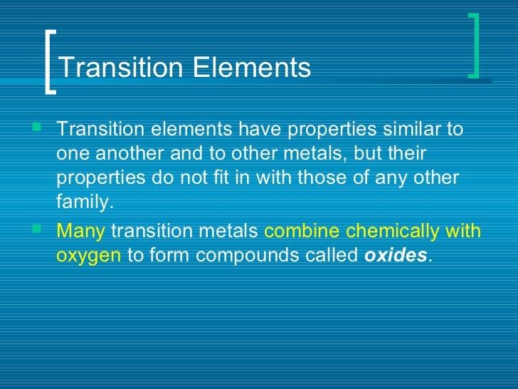Periodic table of elements transition elements urtaz Choice Image