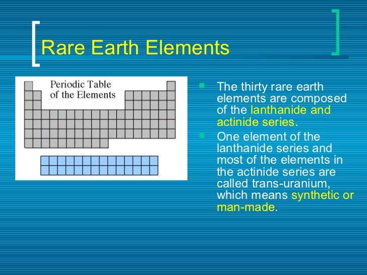 Periodic table of elements rare earth elements urtaz Gallery