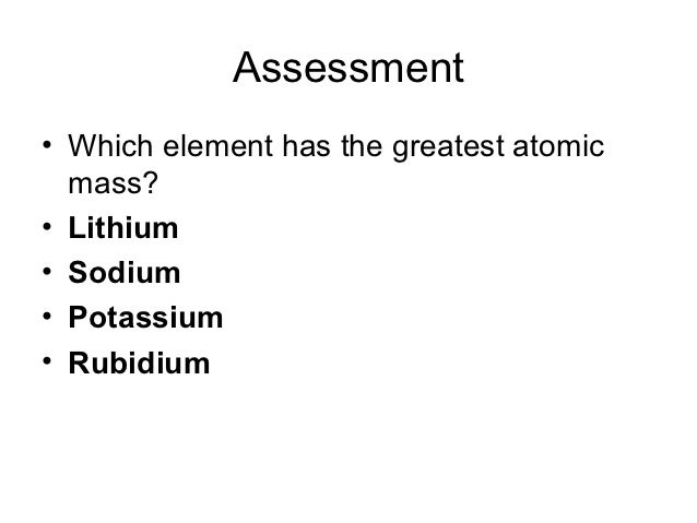 Periodic table power point pres assessment urtaz Choice Image