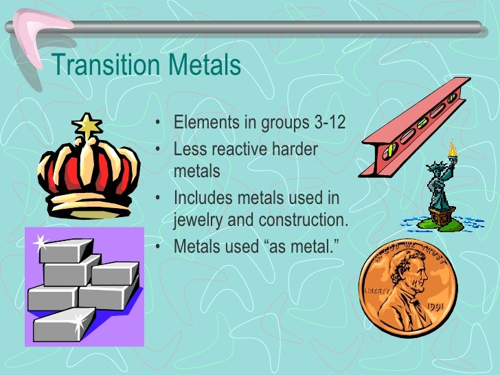 Periodic table ppt transition metals urtaz Gallery