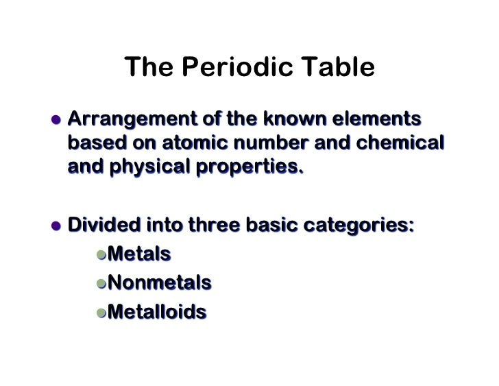 Periodic table ppt cscope the periodictable of the elements 2 urtaz Gallery