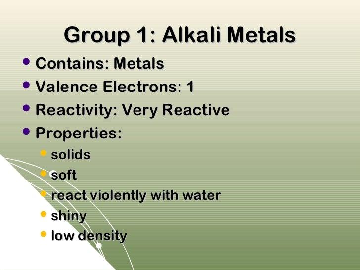 Table ppt cscope 18 group 1 alkali metals urtaz Gallery