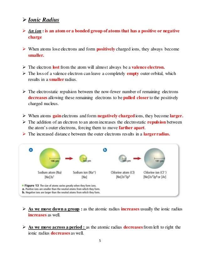 Periodic trends lecture notes ak 4 5 5 ionic radius urtaz Gallery