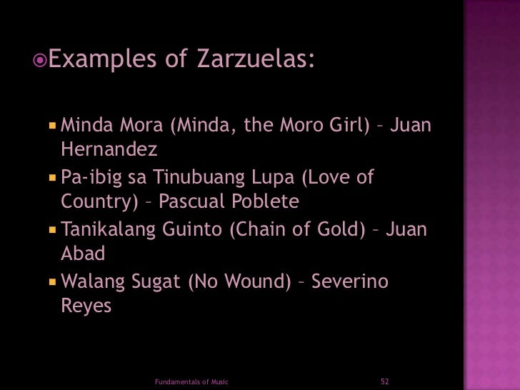 Music of baroque: spanish secular vocal music and the spanish zarzuela.
