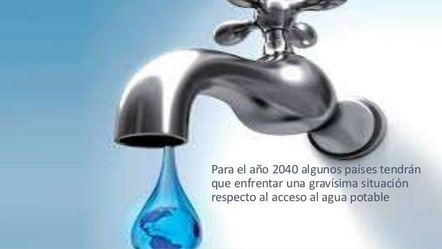 Crisis del agua, 25 países que mas la sufrirán. Slide 2