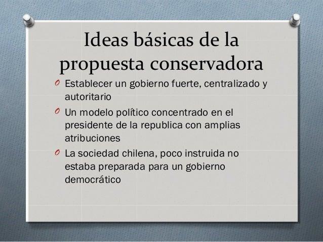 Periodo conservador 1 - Republica de las ideas ...