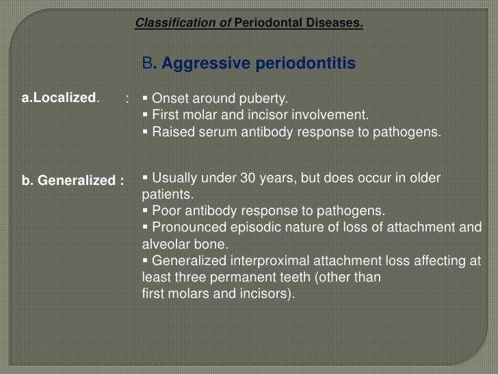 Classification of  Gingival Diseases<br />Non-plaque-induced gingival lesions<br />3. Gingival diseases of fungal origin<b...