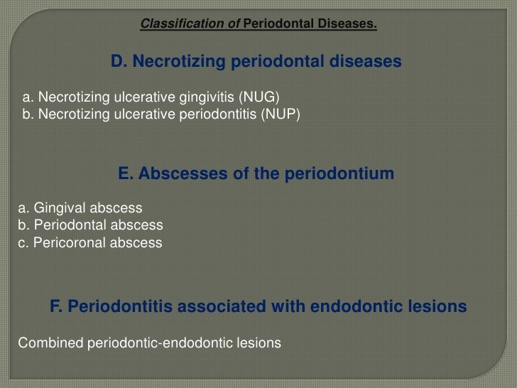 Classification of  Gingival Diseases<br />Non-plaque-induced gingival lesions<br />6. Traumatic lesions (factitious, iatro...